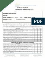 Ficha Para Observacion Practica Docente i