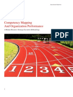 Competency Mapping And Organization Performance