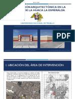 Intervención ARQUITECTÓNICA en La Fachada de La Huaca