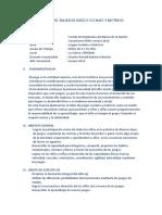 Plan de Trabajo Del Taller de Juegos Sociales y Motrices 22