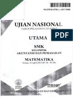 Naskah Soal UN Matematika AKP SMK 2015 Paket 1.pdf