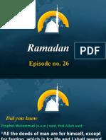 Ramadan Episode No 26