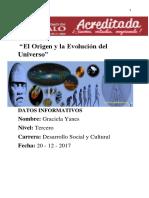 El Origen y la Evolución del Universo.docx