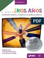 Los Primeros Años_El Bienestar Infantil El Papel Políticas Públicas
