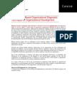 Competency Based Organizational Diagnostic Technique for Organizational Development