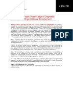 Competency Based Organizational Diagnostic Technique for Organizational Development