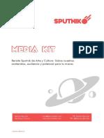 Sputnik Media Kit 2018