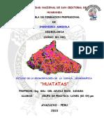 TRABAJO Huatatas