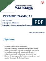 Capitulo 1 - Energía y Transferencia de Enregía