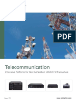 Telecommunication Innovative Platforms for Next Generation SDN NFV Infrastructure - Brochure