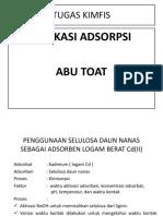 Abu to'at Adsorspsi