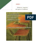 Ejemplo Propuesta Curso Propedeutico- Habilidad Matematica