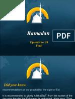 Ramadan Episode No 28