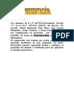 INFORME DEL DIA DEL LOGRO MATEMATICAS 3.docx