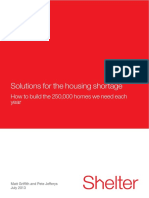 Solutions for the Housing Shortage - FINAL