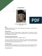 CHAPTER 1 Dr Abdul Latiff Bin Abdul Razak 16 July 2009