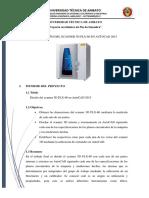 Diseño Del Scanner 3d Plx-60 en Autocad 2015