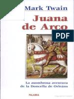 Twain Mark - Juana De Arco.pdf