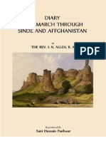 DIARY OF A MARCH THROUGH SINDE AND AFFGHANISTAN (SINDH AND AFGHANISTAN)