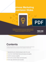 Business Powerpoint Template Vol 10(Color C)