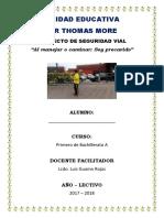Proyecto Vial 2017 Sir Thomas
