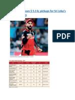 IPL brand crosses $ 5.3 b  pickups for Sri Lnka's Global Rakings.docx