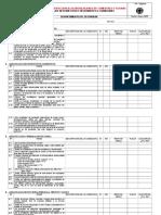 Check List de Inspecciones a Comedores 06-01-05