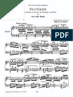 IMSLP391109-PMLP181739-Zadora - Transcription - Bach - Sonata Für Flöte Und Klavier No.2 - Siciliano, BWV 1031