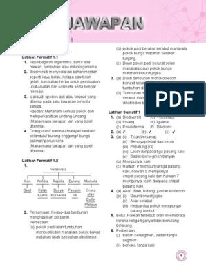 Jawapan Buku Teks Kimia Tingkatan 4