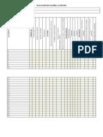 Evaluacion de Valores(35 Alumnos)