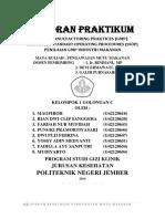 Laporan Praktikum 6 Good Manucfacturing Practices & Sanitation Standart Operating Procedures (Penilaian Gmp & Ssop Industri Makanan)