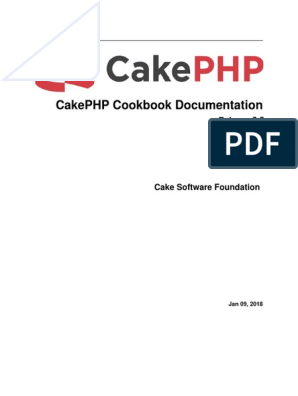 Cake Php Cookbook | Shell (Computing) | Software Engineering