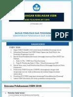 Kebijakan USBN 2017-2018