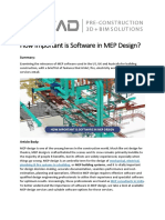 How Important is Software in MEP Design
