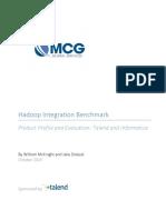 WP en BD HadoopIntegration Informatica