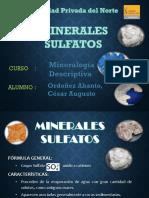 Minerales Sulfatos Expo