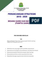 Perancangan Strategik Panitia Sains 2018