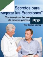Los 5 Secretos Para Mejorar Las Erecciones Reporte