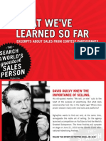 What We'Ve Learned So Far by Ogilvy
