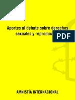 Amnistía Internacional - Medición de Abortos Clandestinos