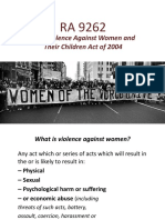 Ra 9262 Gender
