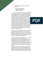 GAjendra Moksham-A Few Questions