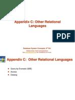 Advanced Relational Database Design