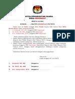 Contoh BA Penunjukan Ketua Dan Pembagian Divisi PPS