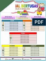 Jadual Tugasan Bilik Darjah.docx