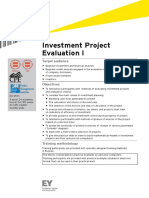 Investment Project Evaluation