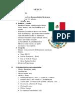 MÉXICO - Cultura