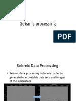 Seismic Processing, Section and Interpretation.