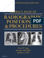MERRILL's Atlas of Radiographic Positioning & Procedures, 13th Ed.