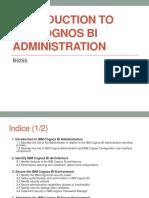 B5255 - IBM Cognos Admin Presentation